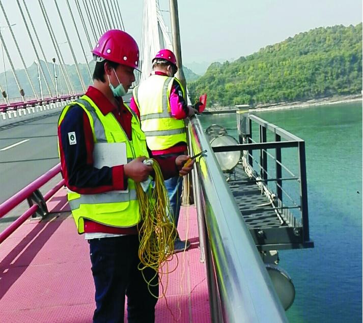 防雷检测——夷陵长江大桥