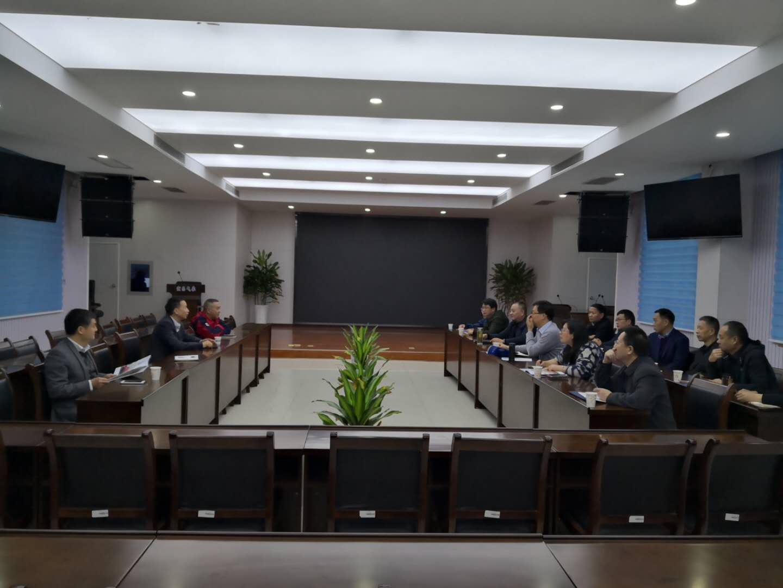 襄阳市气象局到湖北天地雷电科技有限公司调研
